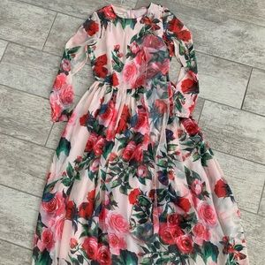 NWOT Maxi Dress Size Small